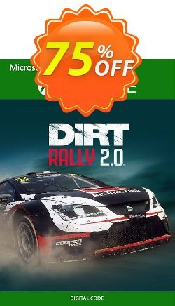 Dirt Rally 2.0 Xbox One - UK  Coupon discount Dirt Rally 2.0 Xbox One (UK) Deal 2021 CDkeys - Dirt Rally 2.0 Xbox One (UK) Exclusive Sale offer for iVoicesoft