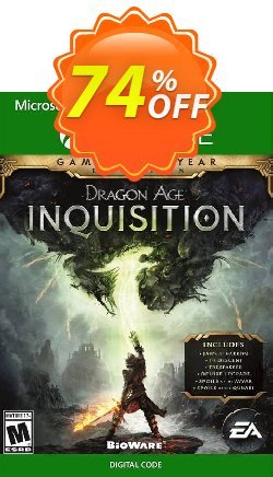 Dragon Age Inquisition: Game of the Year Edition Xbox One - UK  Coupon discount Dragon Age Inquisition: Game of the Year Edition Xbox One (UK) Deal 2021 CDkeys - Dragon Age Inquisition: Game of the Year Edition Xbox One (UK) Exclusive Sale offer for iVoicesoft