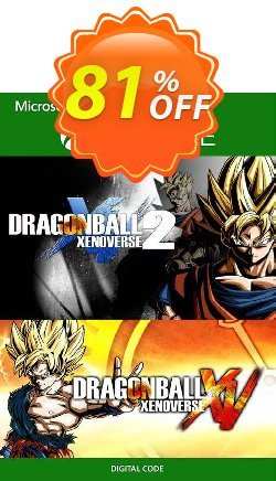 Dragon Ball Xenoverse 1 and 2 Bundle Xbox One - UK  Coupon discount Dragon Ball Xenoverse 1 and 2 Bundle Xbox One (UK) Deal 2021 CDkeys. Promotion: Dragon Ball Xenoverse 1 and 2 Bundle Xbox One (UK) Exclusive Sale offer for iVoicesoft