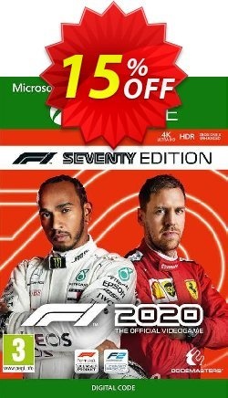 F1 2020 Seventy Edition Xbox One - UK  Coupon discount F1 2020 Seventy Edition Xbox One (UK) Deal 2021 CDkeys - F1 2020 Seventy Edition Xbox One (UK) Exclusive Sale offer for iVoicesoft