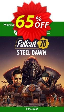 Fallout 76 Steel Dawn Xbox One - UK  Coupon discount Fallout 76 Steel Dawn Xbox One (UK) Deal 2021 CDkeys - Fallout 76 Steel Dawn Xbox One (UK) Exclusive Sale offer for iVoicesoft