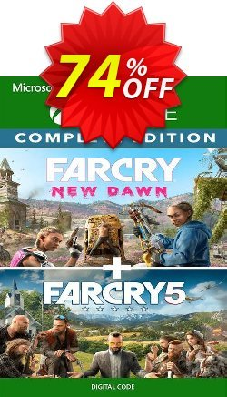 Far Cry 5 + Far Cry New Dawn Deluxe Edition Bundle Xbox One - UK  Coupon discount Far Cry 5 + Far Cry New Dawn Deluxe Edition Bundle Xbox One (UK) Deal 2021 CDkeys - Far Cry 5 + Far Cry New Dawn Deluxe Edition Bundle Xbox One (UK) Exclusive Sale offer for iVoicesoft