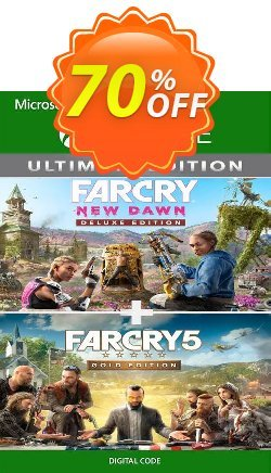 Far Cry 5 Gold Edition and Far Cry New Dawn Deluxe Edition Bundle Xbox One - UK  Coupon discount Far Cry 5 Gold Edition and Far Cry New Dawn Deluxe Edition Bundle Xbox One (UK) Deal 2021 CDkeys - Far Cry 5 Gold Edition and Far Cry New Dawn Deluxe Edition Bundle Xbox One (UK) Exclusive Sale offer for iVoicesoft