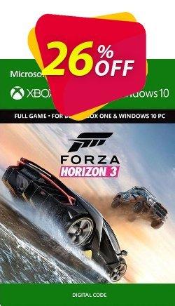 Forza Horizon 3 Xbox One/PC - UK  Coupon discount Forza Horizon 3 Xbox One/PC (UK) Deal 2021 CDkeys - Forza Horizon 3 Xbox One/PC (UK) Exclusive Sale offer for iVoicesoft