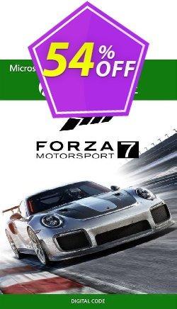 Forza Motorsport 7 Standard Edition Xbox One - US  Coupon discount Forza Motorsport 7 Standard Edition Xbox One (US) Deal 2021 CDkeys - Forza Motorsport 7 Standard Edition Xbox One (US) Exclusive Sale offer for iVoicesoft