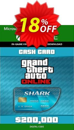 Grand Theft Auto V 5 - Tiger Shark Cash Card Xbox One Coupon discount Grand Theft Auto V 5 - Tiger Shark Cash Card Xbox One Deal 2021 CDkeys - Grand Theft Auto V 5 - Tiger Shark Cash Card Xbox One Exclusive Sale offer for iVoicesoft