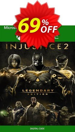 Injustice 2 - Legendary Edition Xbox One - UK  Coupon discount Injustice 2 - Legendary Edition Xbox One (UK) Deal 2021 CDkeys. Promotion: Injustice 2 - Legendary Edition Xbox One (UK) Exclusive Sale offer for iVoicesoft