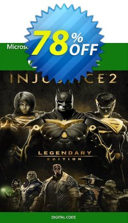 Injustice 2 - Legendary Edition Xbox One - US  Coupon discount Injustice 2 - Legendary Edition Xbox One (US) Deal 2021 CDkeys - Injustice 2 - Legendary Edition Xbox One (US) Exclusive Sale offer for iVoicesoft