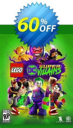 LEGO DC Super-Villains Xbox One - UK  Coupon discount LEGO DC Super-Villains Xbox One (UK) Deal 2021 CDkeys - LEGO DC Super-Villains Xbox One (UK) Exclusive Sale offer for iVoicesoft