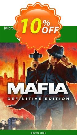 Mafia: Definitive Edition Xbox One - EU  Coupon discount Mafia: Definitive Edition Xbox One (EU) Deal 2021 CDkeys - Mafia: Definitive Edition Xbox One (EU) Exclusive Sale offer for iVoicesoft