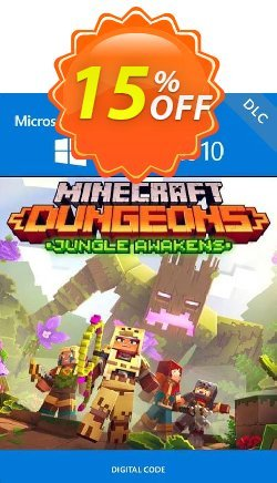 Minecraft Dungeons: Jungle Awakens Windows 10 PC - DLC - UK  Coupon discount Minecraft Dungeons: Jungle Awakens Windows 10 PC - DLC (UK) Deal 2021 CDkeys - Minecraft Dungeons: Jungle Awakens Windows 10 PC - DLC (UK) Exclusive Sale offer for iVoicesoft
