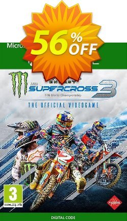 Monster Energy Supercross - The Official Videogame 3 Xbox One - UK  Coupon discount Monster Energy Supercross - The Official Videogame 3 Xbox One (UK) Deal 2021 CDkeys - Monster Energy Supercross - The Official Videogame 3 Xbox One (UK) Exclusive Sale offer for iVoicesoft