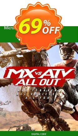 MX vs ATV All Out Xbox One - UK  Coupon discount MX vs ATV All Out Xbox One (UK) Deal 2021 CDkeys - MX vs ATV All Out Xbox One (UK) Exclusive Sale offer for iVoicesoft