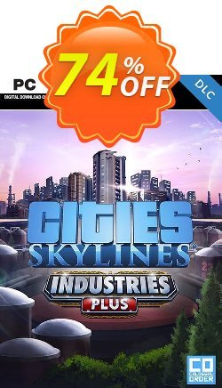 Cities Skylines PC - Industries Plus DLC Coupon discount Cities Skylines PC - Industries Plus DLC Deal - Cities Skylines PC - Industries Plus DLC Exclusive offer for iVoicesoft