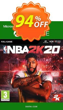 NBA 2K20 Xbox One - UK  Coupon discount NBA 2K20 Xbox One (UK) Deal 2021 CDkeys - NBA 2K20 Xbox One (UK) Exclusive Sale offer for iVoicesoft