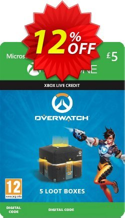 Overwatch - 5 Loot Boxes Xbox One Coupon discount Overwatch - 5 Loot Boxes Xbox One Deal 2021 CDkeys - Overwatch - 5 Loot Boxes Xbox One Exclusive Sale offer for iVoicesoft