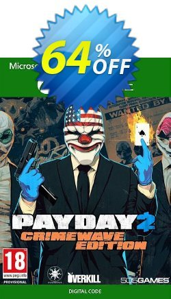 PAYDAY 2 - Crimewave Edition Xbox One - UK  Coupon discount PAYDAY 2 - Crimewave Edition Xbox One (UK) Deal 2021 CDkeys - PAYDAY 2 - Crimewave Edition Xbox One (UK) Exclusive Sale offer for iVoicesoft