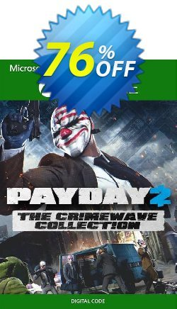 Payday 2 - The Crimewave Collection Xbox One - UK  Coupon discount Payday 2 - The Crimewave Collection Xbox One (UK) Deal 2021 CDkeys. Promotion: Payday 2 - The Crimewave Collection Xbox One (UK) Exclusive Sale offer for iVoicesoft