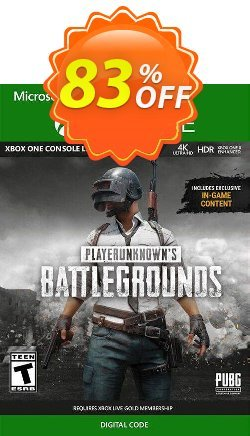 PlayerUnknowns Battlegrounds - PUBG Xbox One - UK  Coupon discount PlayerUnknowns Battlegrounds (PUBG) Xbox One (UK) Deal 2021 CDkeys - PlayerUnknowns Battlegrounds (PUBG) Xbox One (UK) Exclusive Sale offer for iVoicesoft