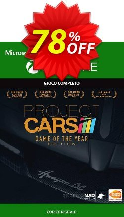 Project Cars Game of the Year Edition Xbox One - UK  Coupon discount Project Cars Game of the Year Edition Xbox One (UK) Deal 2021 CDkeys - Project Cars Game of the Year Edition Xbox One (UK) Exclusive Sale offer for iVoicesoft
