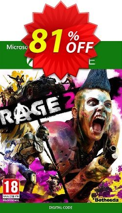 RAGE 2 Xbox One - UK  Coupon discount RAGE 2 Xbox One (UK) Deal 2021 CDkeys - RAGE 2 Xbox One (UK) Exclusive Sale offer for iVoicesoft