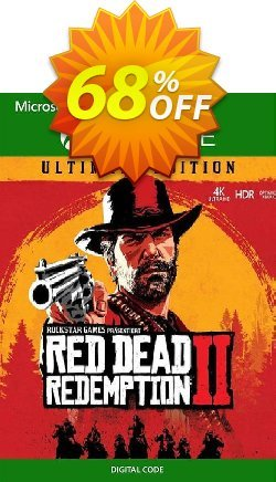 Red Dead Redemption 2 - Ultimate Edition Xbox One - US  Coupon discount Red Dead Redemption 2 - Ultimate Edition Xbox One (US) Deal 2021 CDkeys - Red Dead Redemption 2 - Ultimate Edition Xbox One (US) Exclusive Sale offer for iVoicesoft