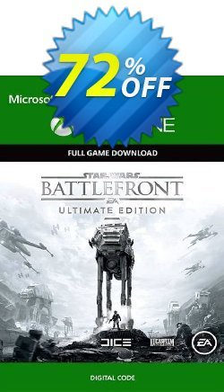 Star Wars Battlefront - Ultimate Edition Xbox One - UK  Coupon discount Star Wars Battlefront - Ultimate Edition Xbox One (UK) Deal 2021 CDkeys - Star Wars Battlefront - Ultimate Edition Xbox One (UK) Exclusive Sale offer for iVoicesoft