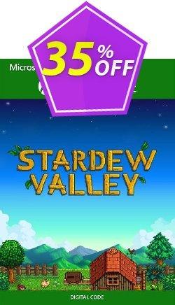 Stardew Valley Xbox One - UK  Coupon discount Stardew Valley Xbox One (UK) Deal 2021 CDkeys. Promotion: Stardew Valley Xbox One (UK) Exclusive Sale offer for iVoicesoft