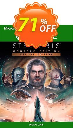 Stellaris: Console Edition - Deluxe Edition Xbox One - UK  Coupon discount Stellaris: Console Edition - Deluxe Edition Xbox One (UK) Deal 2021 CDkeys - Stellaris: Console Edition - Deluxe Edition Xbox One (UK) Exclusive Sale offer for iVoicesoft