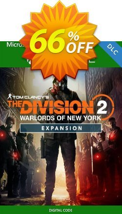 The Division 2 - Warlords of New York - Expansion Xbox One - UK  Coupon discount The Division 2 - Warlords of New York - Expansion Xbox One (UK) Deal 2021 CDkeys - The Division 2 - Warlords of New York - Expansion Xbox One (UK) Exclusive Sale offer for iVoicesoft