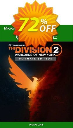 The Division 2 - Warlords of New York - Ultimate Edition Xbox One - UK  Coupon discount The Division 2 - Warlords of New York - Ultimate Edition Xbox One (UK) Deal 2021 CDkeys - The Division 2 - Warlords of New York - Ultimate Edition Xbox One (UK) Exclusive Sale offer for iVoicesoft