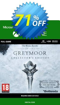 The Elder Scrolls Online: Greymoor Collector's Edition Xbox One - UK  Coupon discount The Elder Scrolls Online: Greymoor Collector's Edition Xbox One (UK) Deal 2021 CDkeys - The Elder Scrolls Online: Greymoor Collector's Edition Xbox One (UK) Exclusive Sale offer for iVoicesoft