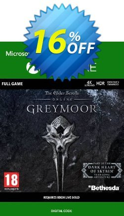 The Elder Scrolls Online: Greymoor Xbox One Coupon discount The Elder Scrolls Online: Greymoor Xbox One Deal 2021 CDkeys - The Elder Scrolls Online: Greymoor Xbox One Exclusive Sale offer for iVoicesoft