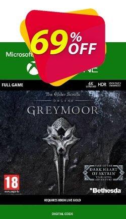 The Elder Scrolls Online: Greymoor Xbox One - UK  Coupon discount The Elder Scrolls Online: Greymoor Xbox One (UK) Deal 2021 CDkeys - The Elder Scrolls Online: Greymoor Xbox One (UK) Exclusive Sale offer for iVoicesoft