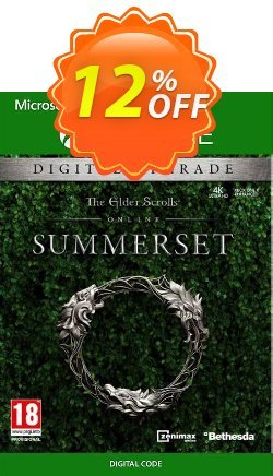 The Elder Scrolls Online: Summerset Upgrade Edition Xbox One Coupon discount The Elder Scrolls Online: Summerset Upgrade Edition Xbox One Deal 2021 CDkeys - The Elder Scrolls Online: Summerset Upgrade Edition Xbox One Exclusive Sale offer for iVoicesoft