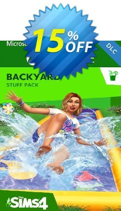 The Sims 4 - Backyard Stuff Xbox One - UK  Coupon discount The Sims 4 - Backyard Stuff Xbox One (UK) Deal 2021 CDkeys - The Sims 4 - Backyard Stuff Xbox One (UK) Exclusive Sale offer for iVoicesoft