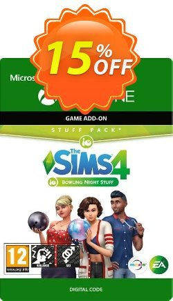 The Sims 4 - Bowling Night Stuff Xbox One - UK  Coupon discount The Sims 4 - Bowling Night Stuff Xbox One (UK) Deal 2021 CDkeys - The Sims 4 - Bowling Night Stuff Xbox One (UK) Exclusive Sale offer for iVoicesoft