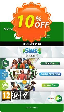 The Sims 4 Bundle - Seasons, Jungle Adventure, Spooky Stuff Xbox One Coupon discount The Sims 4 Bundle - Seasons, Jungle Adventure, Spooky Stuff Xbox One Deal 2021 CDkeys - The Sims 4 Bundle - Seasons, Jungle Adventure, Spooky Stuff Xbox One Exclusive Sale offer for iVoicesoft