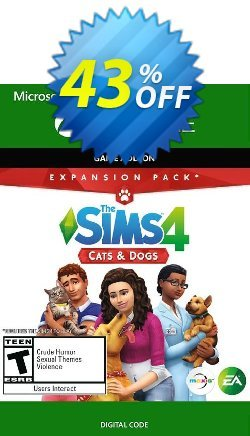 The Sims 4 - Cats and Dog Expansion Pack Xbox One Coupon discount The Sims 4 - Cats and Dog Expansion Pack Xbox One Deal 2021 CDkeys - The Sims 4 - Cats and Dog Expansion Pack Xbox One Exclusive Sale offer for iVoicesoft