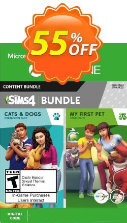 The Sims 4 - Cats & Dogs +  My First Pet Stuff Bundle Xbox One - UK  Coupon discount The Sims 4 - Cats & Dogs +  My First Pet Stuff Bundle Xbox One (UK) Deal 2021 CDkeys - The Sims 4 - Cats & Dogs +  My First Pet Stuff Bundle Xbox One (UK) Exclusive Sale offer for iVoicesoft