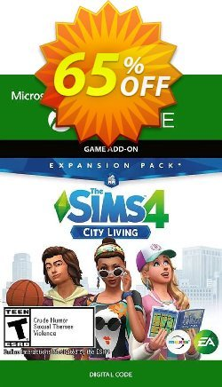 The Sims 4 - City Living Xbox One - UK  Coupon discount The Sims 4 - City Living Xbox One (UK) Deal 2021 CDkeys - The Sims 4 - City Living Xbox One (UK) Exclusive Sale offer for iVoicesoft