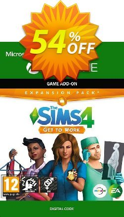 The Sims 4: Get to Work Xbox One Coupon discount The Sims 4: Get to Work Xbox One Deal 2021 CDkeys - The Sims 4: Get to Work Xbox One Exclusive Sale offer for iVoicesoft