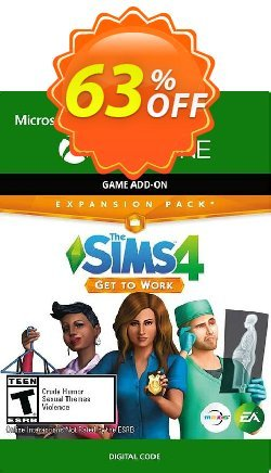 The Sims 4 Get to Work Xbox One - UK  Coupon discount The Sims 4 Get to Work Xbox One (UK) Deal 2021 CDkeys - The Sims 4 Get to Work Xbox One (UK) Exclusive Sale offer for iVoicesoft
