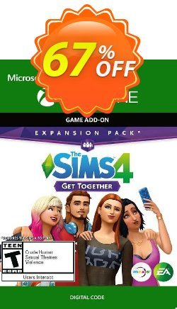 The Sims 4 Get Together Xbox One - UK  Coupon discount The Sims 4 Get Together Xbox One (UK) Deal 2021 CDkeys - The Sims 4 Get Together Xbox One (UK) Exclusive Sale offer for iVoicesoft