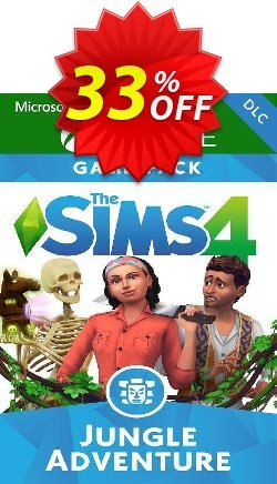 The Sims 4 - Jungle Adventure Xbox One - UK  Coupon discount The Sims 4 - Jungle Adventure Xbox One (UK) Deal 2021 CDkeys - The Sims 4 - Jungle Adventure Xbox One (UK) Exclusive Sale offer for iVoicesoft