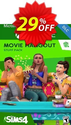 The Sims 4 - Movie Hangout Stuff Xbox One - UK  Coupon discount The Sims 4 - Movie Hangout Stuff Xbox One (UK) Deal 2021 CDkeys - The Sims 4 - Movie Hangout Stuff Xbox One (UK) Exclusive Sale offer for iVoicesoft