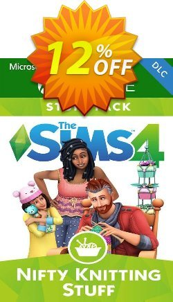 The Sims 4 - Nifty Knitting Stuff Pack Xbox One - UK  Coupon discount The Sims 4 - Nifty Knitting Stuff Pack Xbox One (UK) Deal 2021 CDkeys - The Sims 4 - Nifty Knitting Stuff Pack Xbox One (UK) Exclusive Sale offer for iVoicesoft