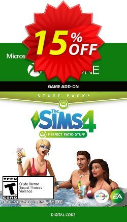 The Sims 4 - Perfect Patio Stuff Xbox One - UK  Coupon discount The Sims 4 - Perfect Patio Stuff Xbox One (UK) Deal 2021 CDkeys - The Sims 4 - Perfect Patio Stuff Xbox One (UK) Exclusive Sale offer for iVoicesoft