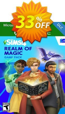 The Sims 4 -  Realm of Magic Game Pack Xbox One - UK  Coupon discount The Sims 4 -  Realm of Magic Game Pack Xbox One (UK) Deal 2021 CDkeys - The Sims 4 -  Realm of Magic Game Pack Xbox One (UK) Exclusive Sale offer for iVoicesoft