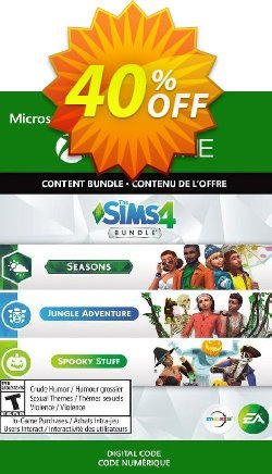 The Sims 4 - Seasons, Jungle Adventure, Spooky Stuff Xbox One - UK  Coupon discount The Sims 4 - Seasons, Jungle Adventure, Spooky Stuff Xbox One (UK) Deal 2021 CDkeys - The Sims 4 - Seasons, Jungle Adventure, Spooky Stuff Xbox One (UK) Exclusive Sale offer for iVoicesoft